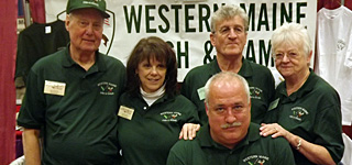 WMF&G members at the 2012 Sportsman Show Augusta, Maine.