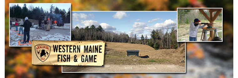 Western maine fish game for Maine fish and game