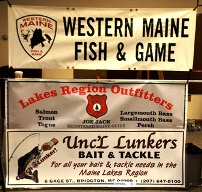Gallery western maine fish game for Maine fish and game